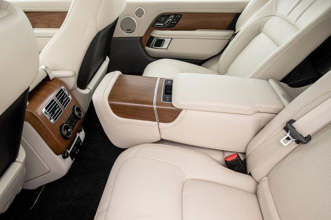 Range Rover 2021 rear seats