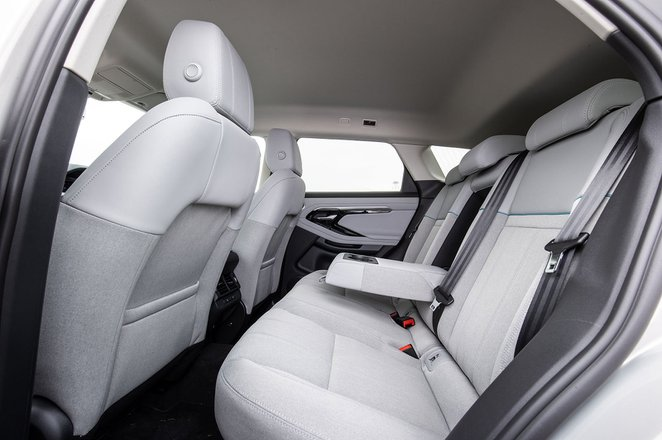 Range Rover Evoque 2021 rear seats