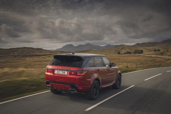 Range Rover Sport 2020 rear tracking