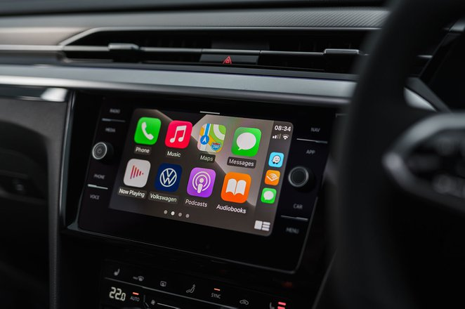 Volkswagen Arteon Gran Turismo 2020 Infotainment screen
