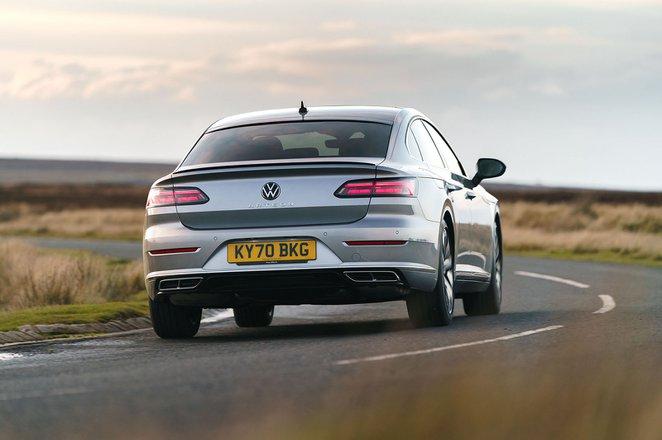 Volkswagen Arteon Gran Turismo 2020 Rear cornering