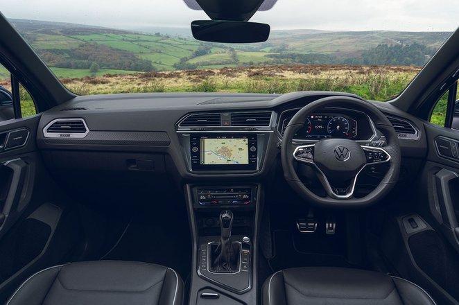 Volkswagen Tiguan 2021 Dashboard