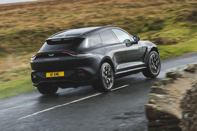 Aston Martin DBX 2020 rear cornering