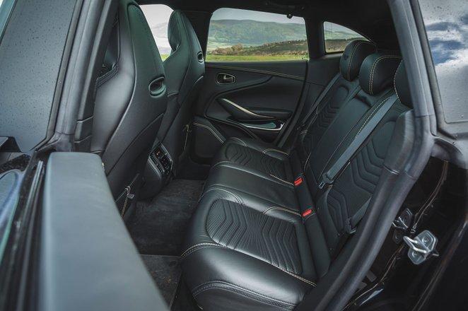 Aston Martin DBX 2020 rear seats