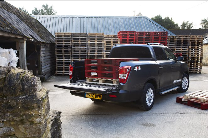 Ssangyong Musso 2020 load bed