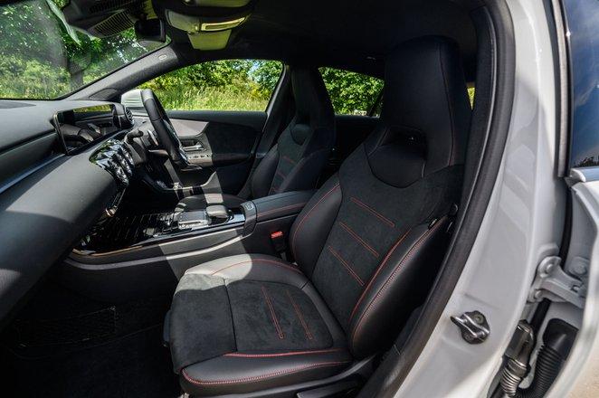 Mercedes-Benz A-Class A250 2020 rear seats