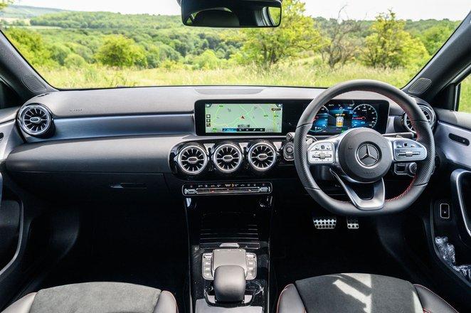 Mercedes-Benz A-Class A250 2020 dashboard