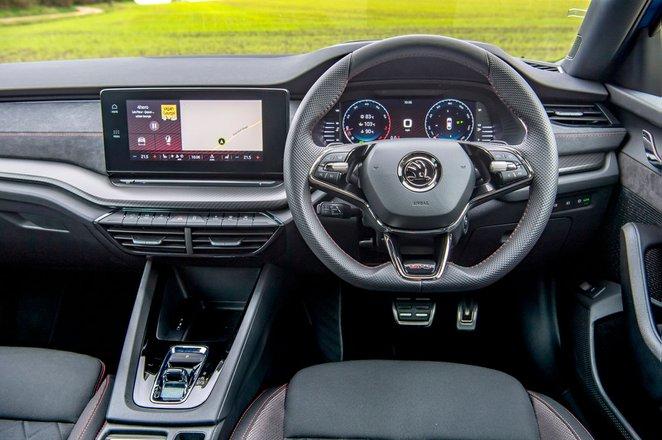 Skoda Octavia vRS Hatchback 2020 Dashboard