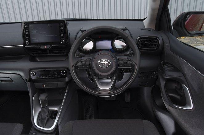 Toyota Yaris 2021 Dashboard