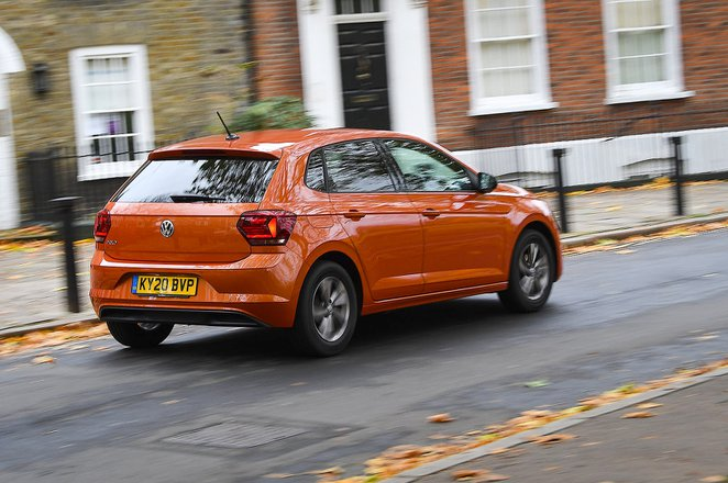 Volkswagen Polo 2020 rear tracking