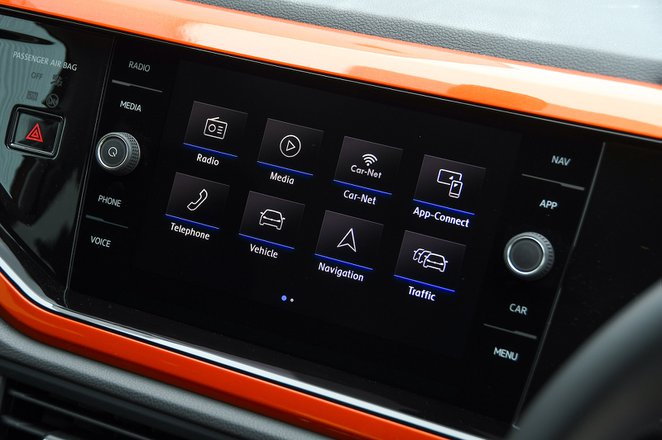 Volkswagen Polo 2020 infotainment