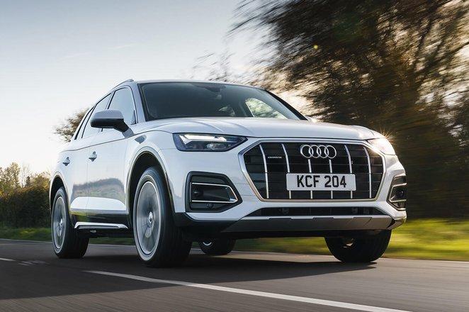 Audi Q5 2021 front