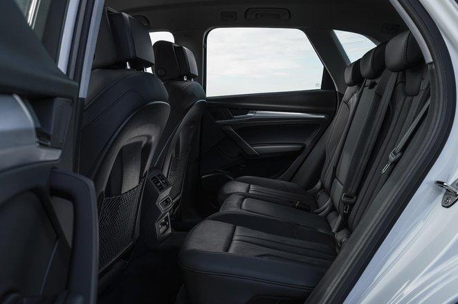 Audi Q5 2021 Rear seats