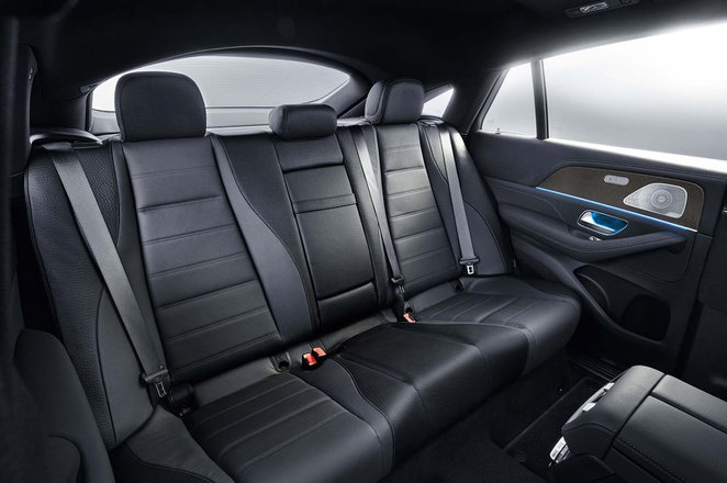 Mercedes GLE Coupé Rear seats