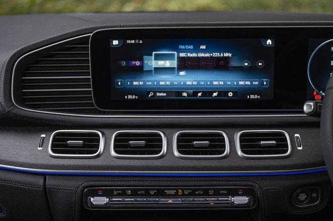 Mercedes GLE Coupé Infotainment screen