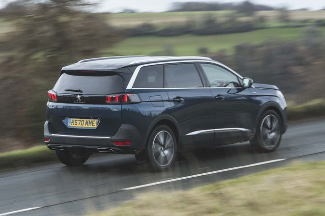 Peugeot 5008 2020 Rear tracking