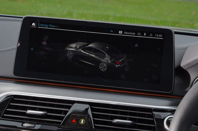 BMW 5 Series 2021 infotainment