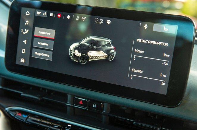 Fiat 500 Cabrio 2021 infotainment