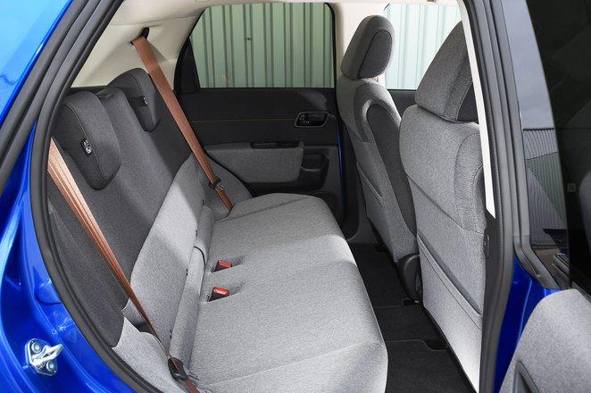 Honda E rear seats