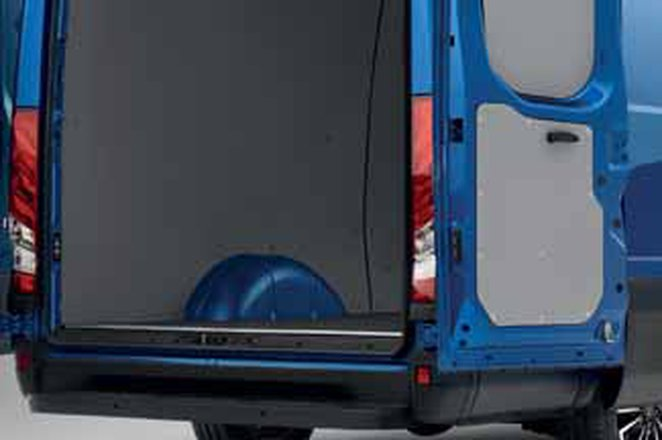 Iveco Daily load space rear