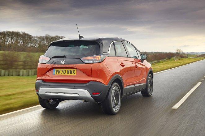 Vauxhall Crossland 2021 RHD rear tracking