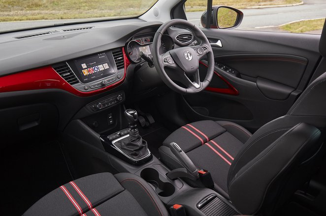 Vauxhall Crossland 2021 RHD dashboard interior