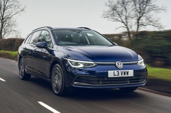 Volkswagen Golf Estate 2021 front tracking