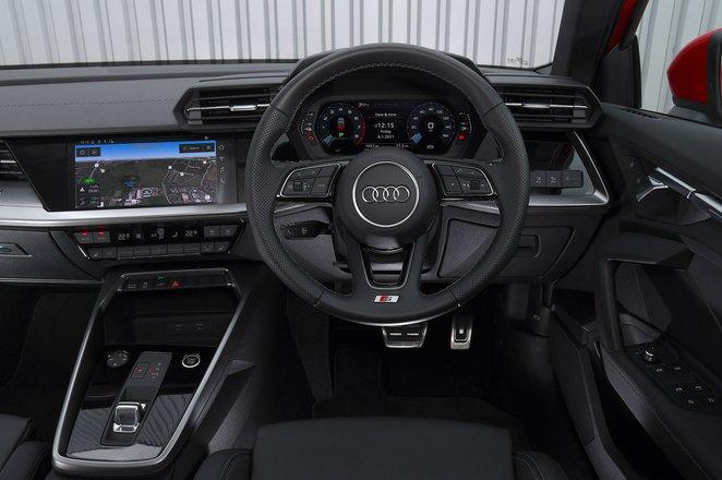 Audi A3 2021 RHD dashboard