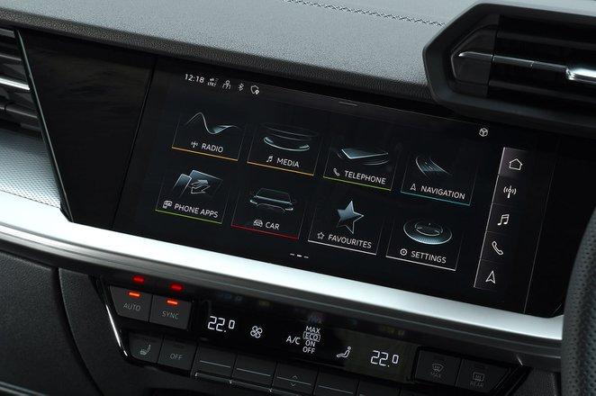 Audi A3 2021 infotainment