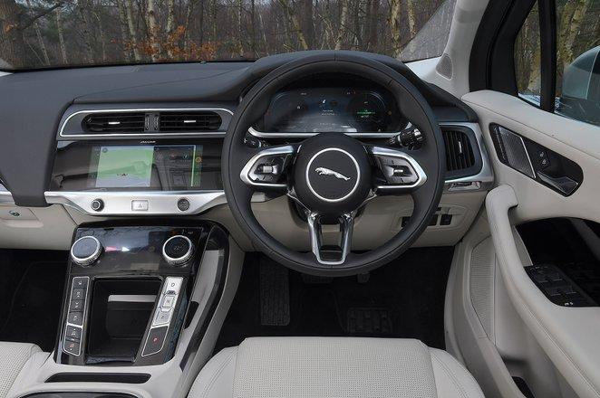 Jaguar I-Pace 2021 RHD dashboard