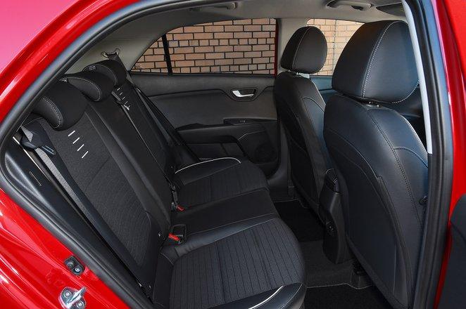Kia Rio 2021 rear seats