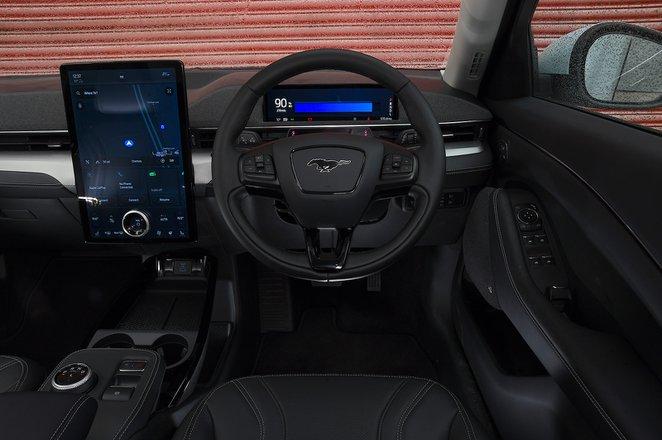Ford Mustang Mach-E RWD 2021 dashboard