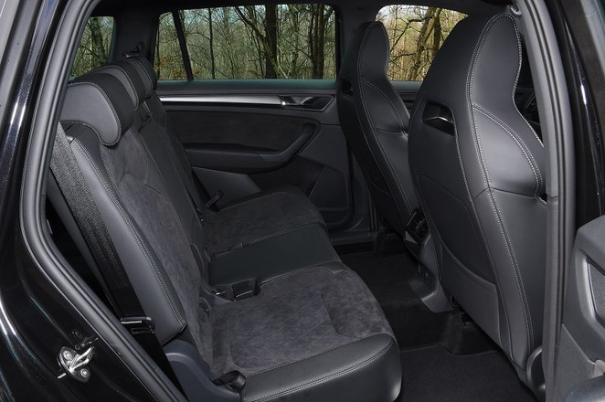 Skoda Kodiaq 2021 rear seats