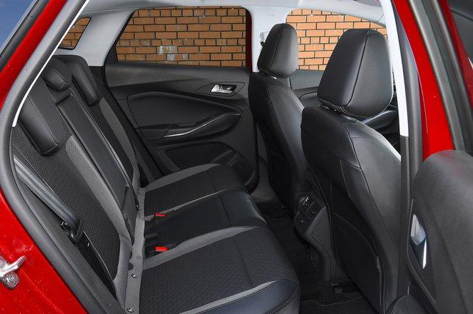 Vauxhall Grandland X 2021 rear seats