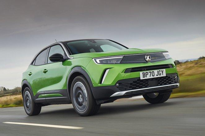 Vauxhall Mokka-e 2021 front tracking