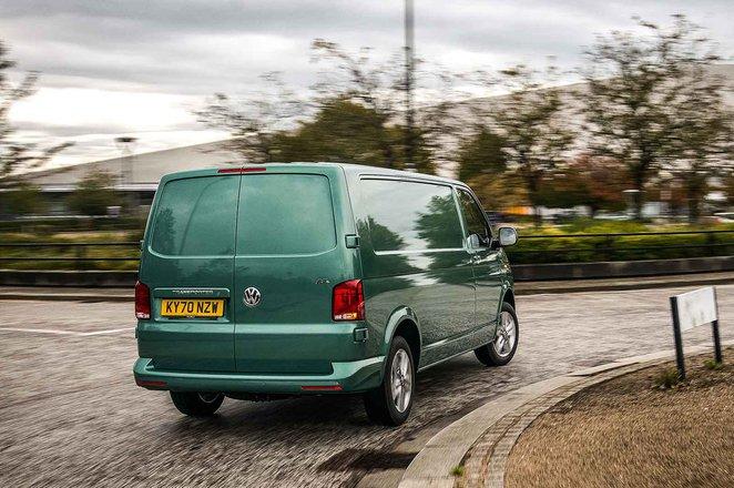 Volkswagen ABT eTransporter rear driving