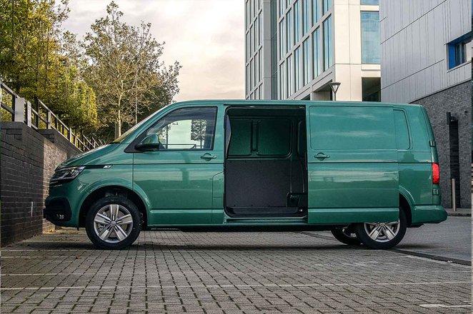 Volkswagen ABT eTransporter side door opening