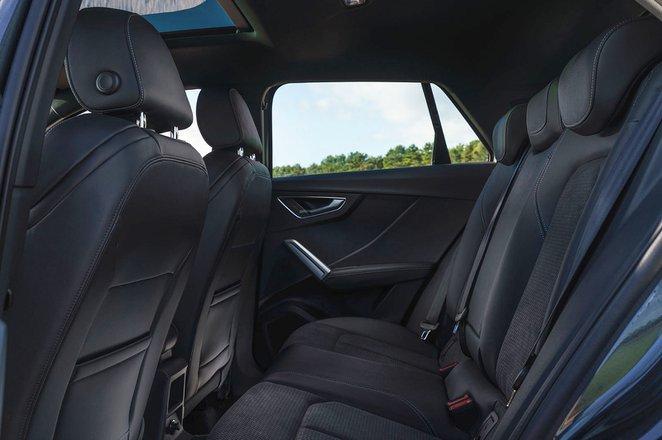 Audi Q2 2021 rear seats RHD
