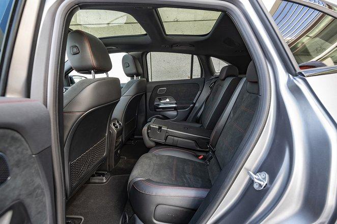 Mercedes-Benz EQA 2021 rear seats