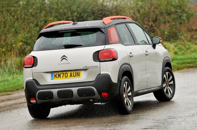 Citroen C3 Aircross 2021 rear