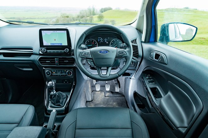 Ford Ecosport 2021 RHD dashboard