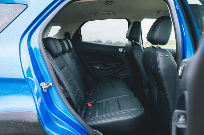 Ford Ecosport 2021 rear seats