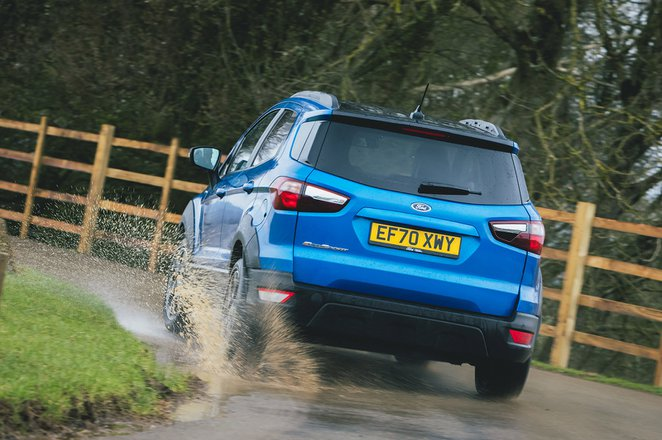 Ford Ecosport 2021 rear tracking