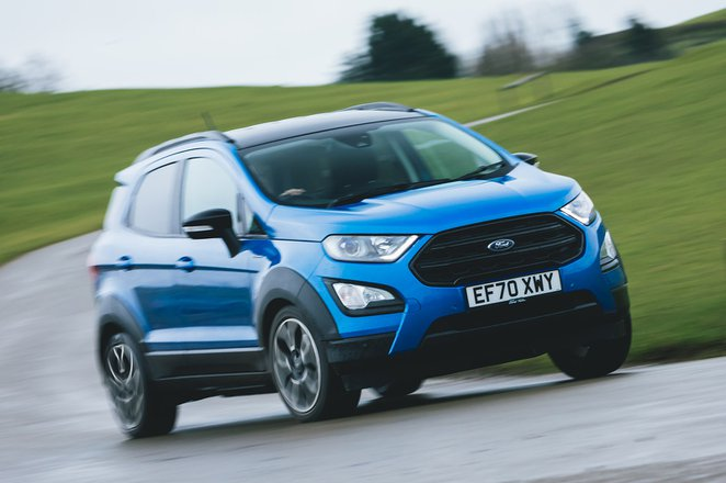 Ford Ecosport 2021 front right tracking