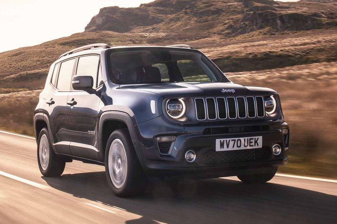 Jeep Renegade 4xe 2021 front