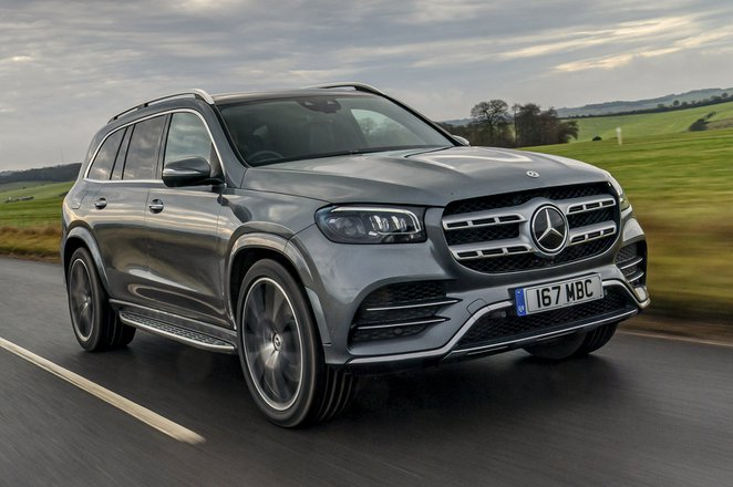 Mercedes GLS 2021 front tracking