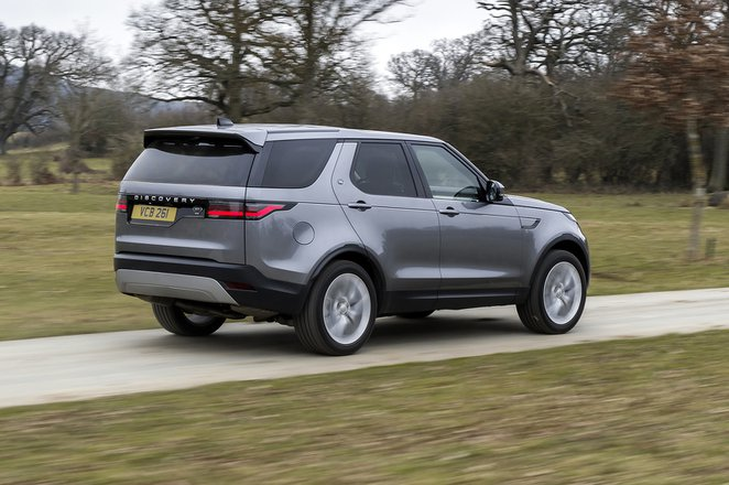 Land Rover Discovery 2021 rear tracking