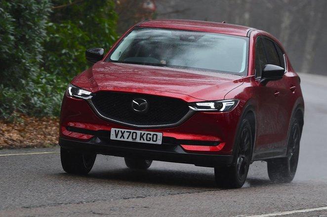 Mazda CX-5 2021 front cornering