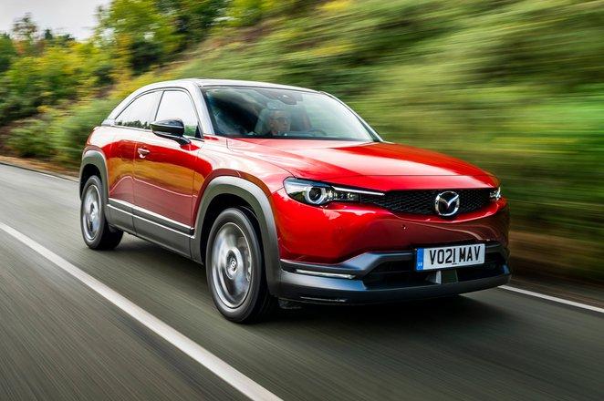 Mazda MX-30 2021 front tracking