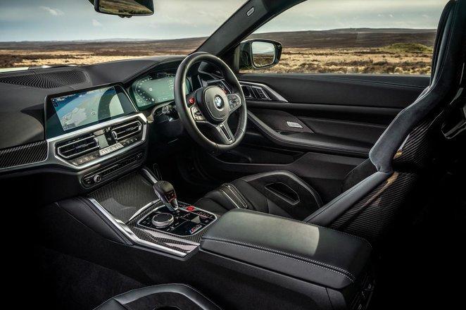 BMW M4 2021 RHD dashboard